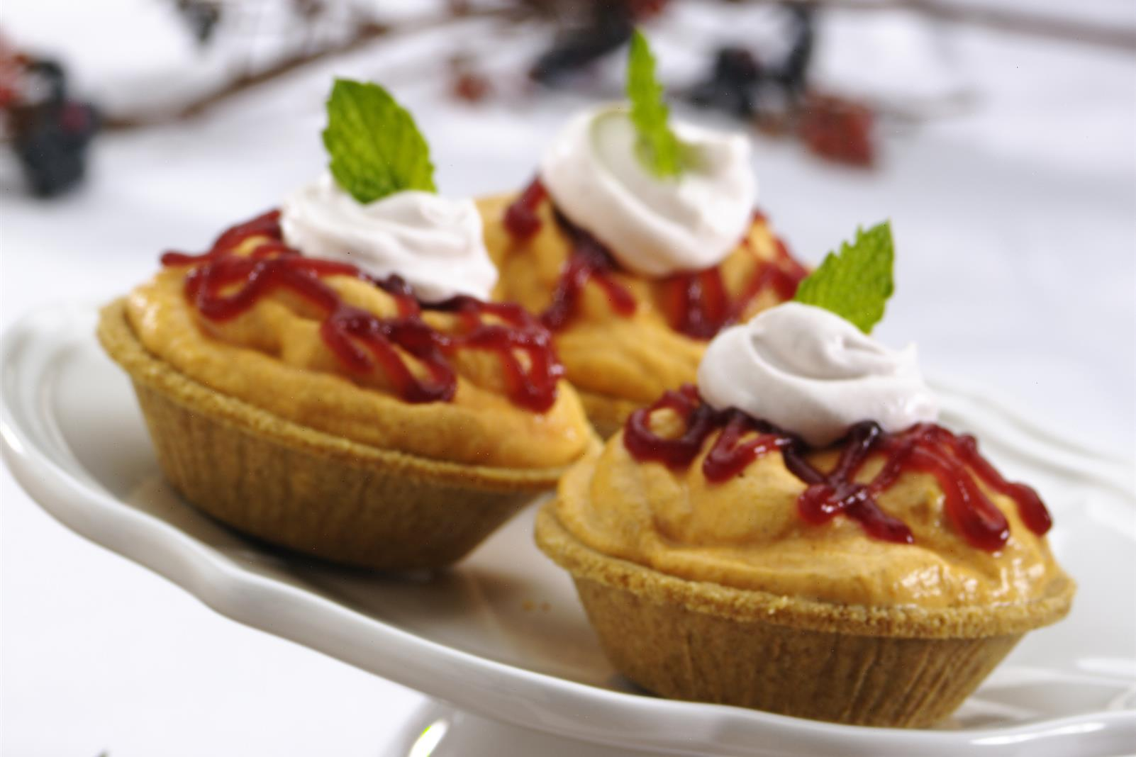 Autumn Chill Ice Cream Tartlets