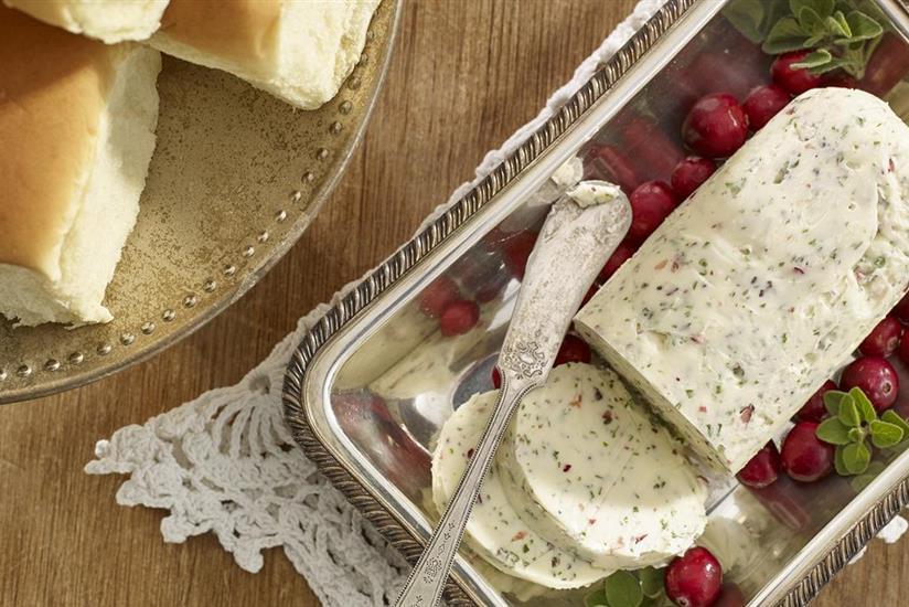 Cranberry Herb Butter