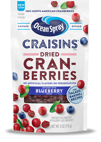 Craisins® Dried Cranberries Blueberry Juice Infused