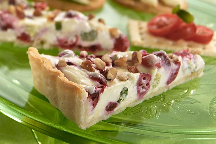 Cranberry Gorgonzola Appetizer Tart