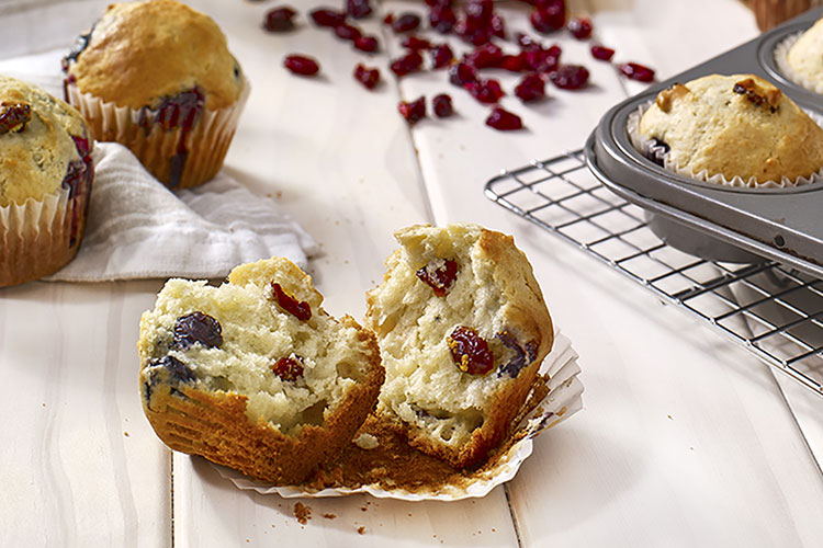 Cranberry Blueberry Muffins