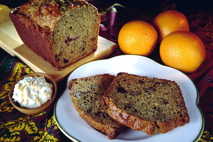 Cranberry Orange Toasted Bread