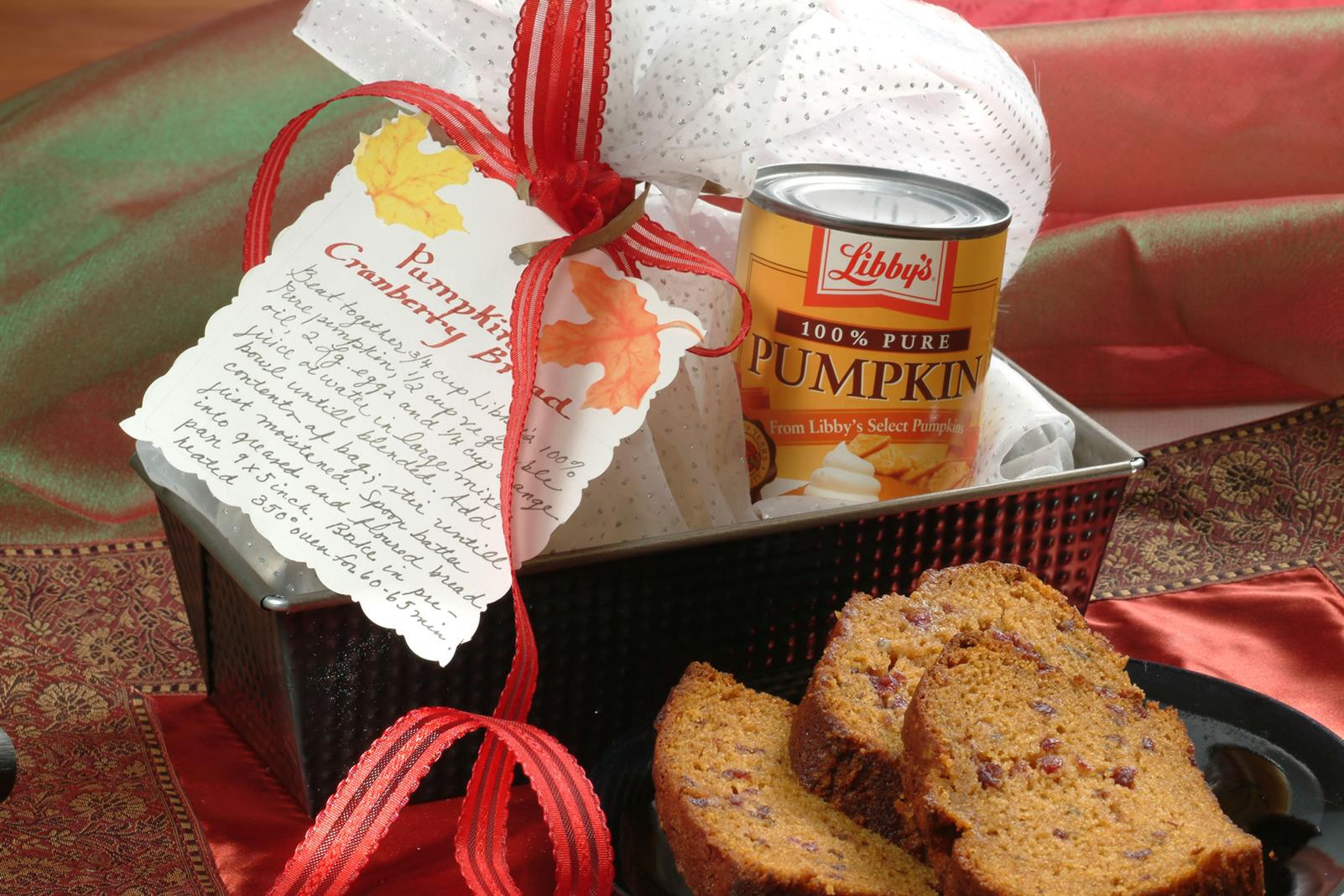 Pumpkin Cranberry Bread Mix