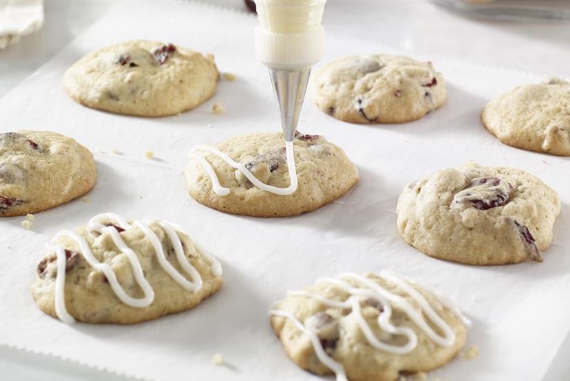 Cranberry Ginger Drop Cookies