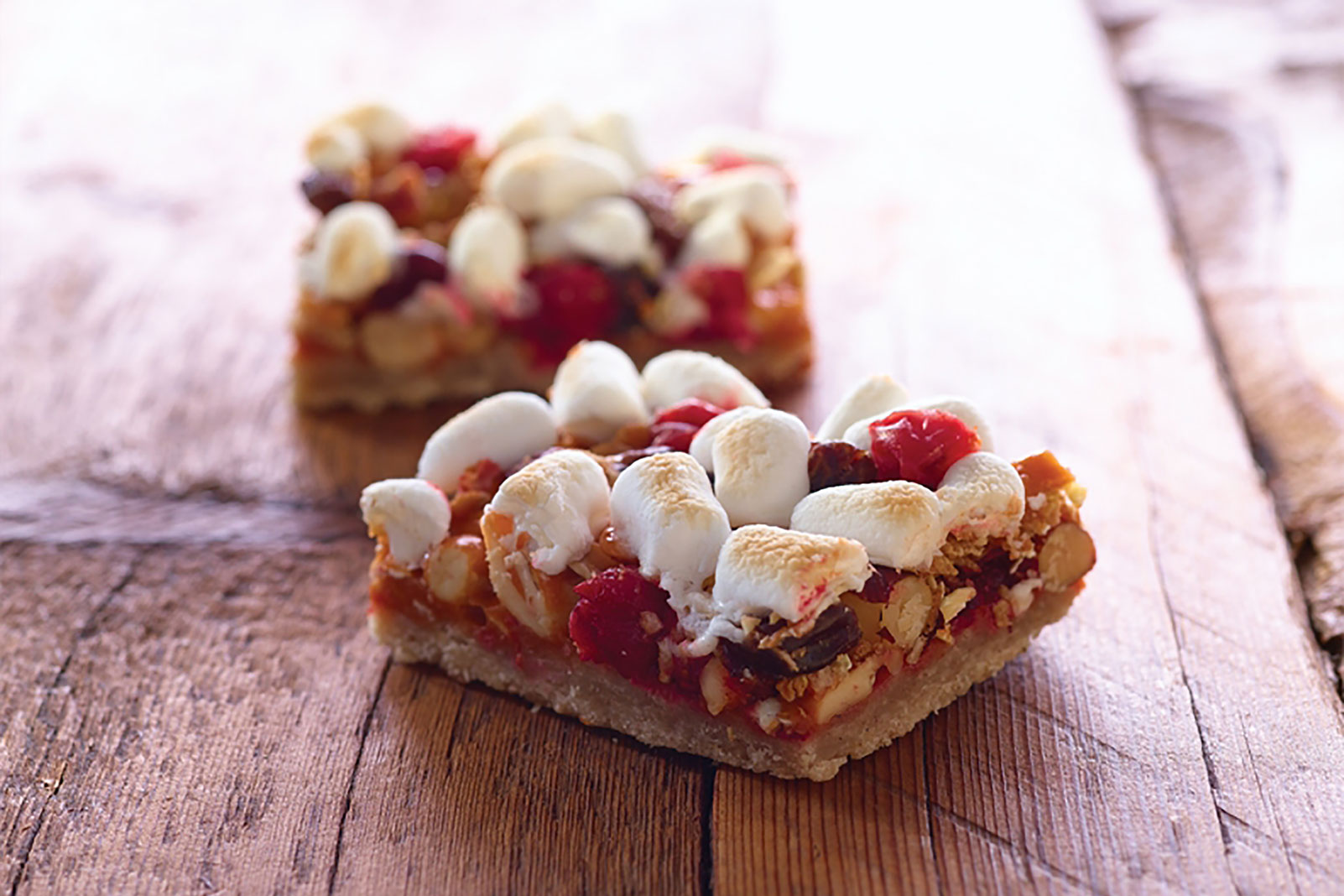 Cranberry Granola Nut Bars