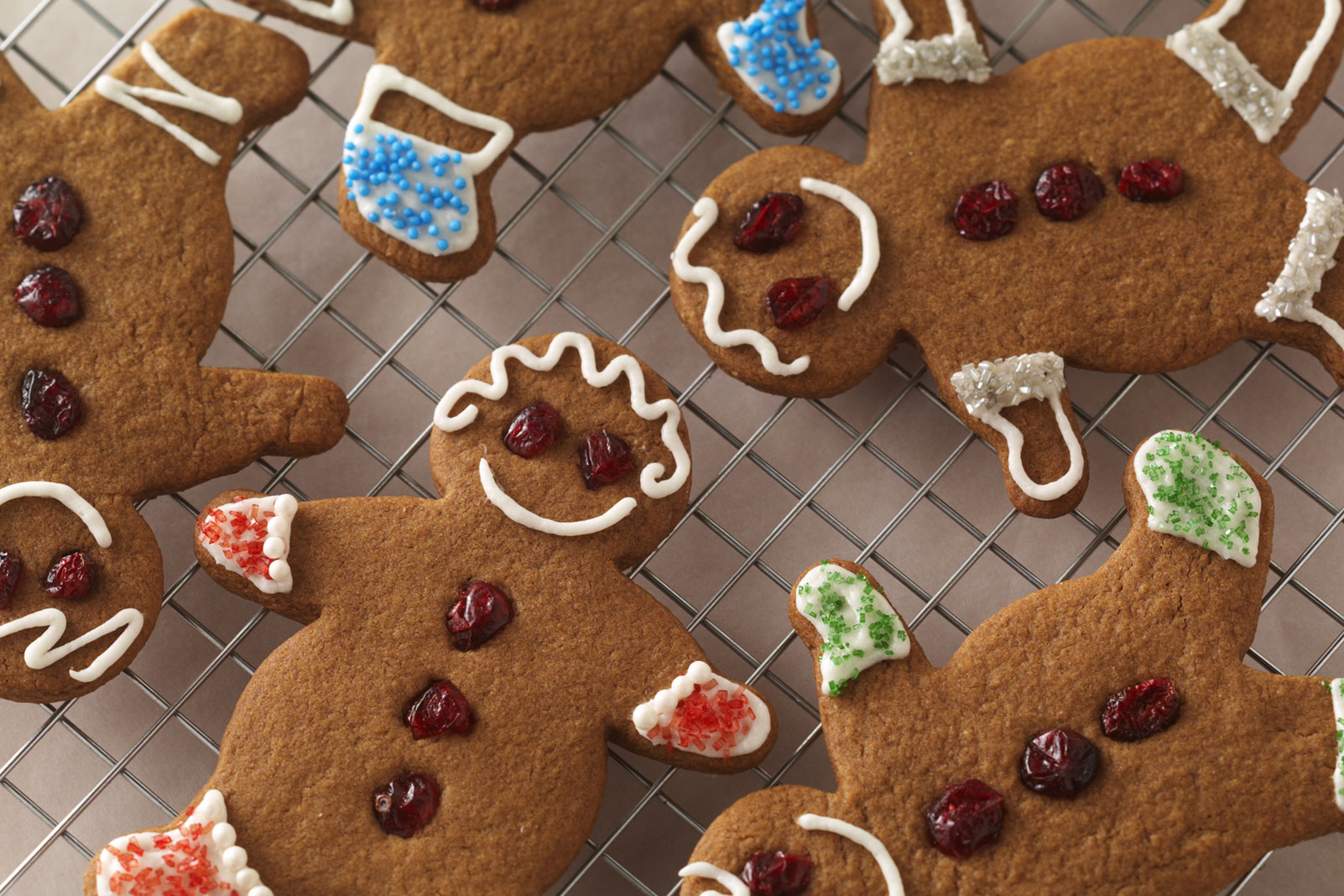 "Cute 'n ""Craisy"" Gingerbread People"