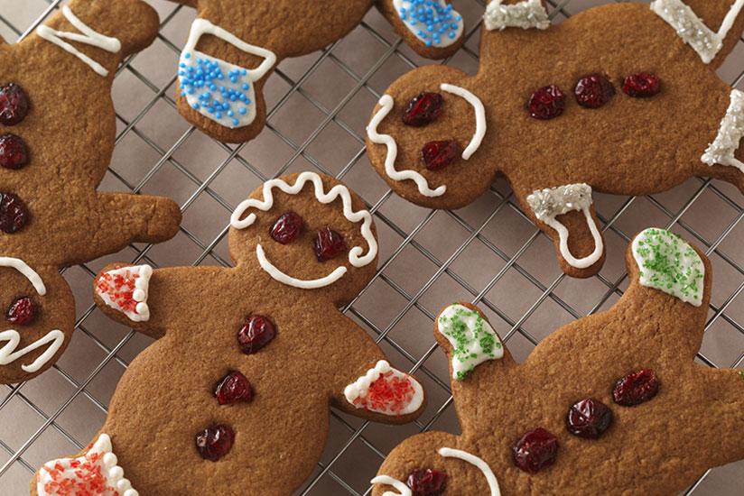 """Cute 'n """"Craisy"""" Gingerbread People"""