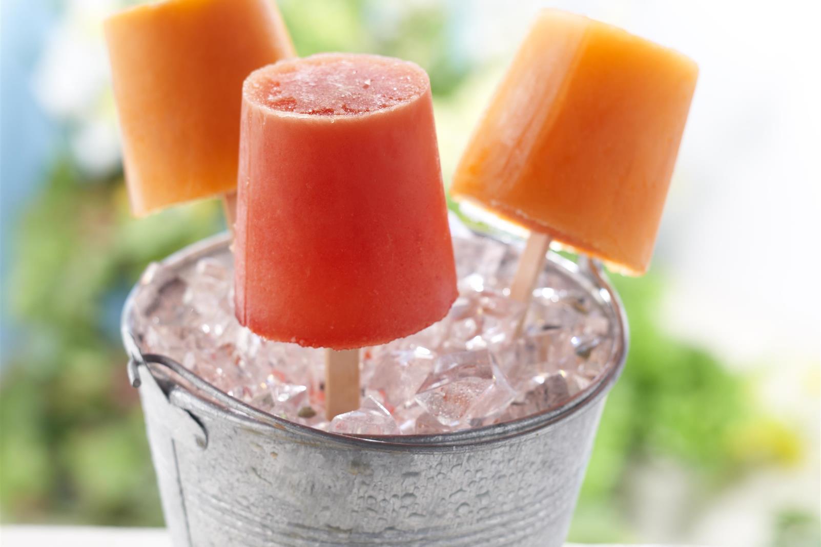 Fruit Juice Frozen Pops