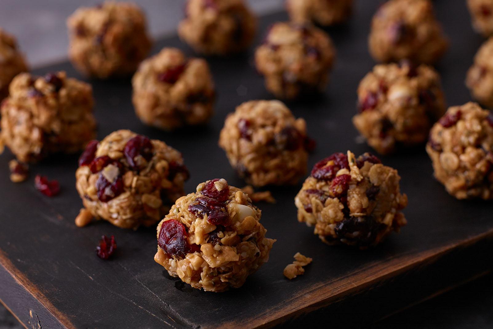Craisins® Dried Cranberries Power Bites