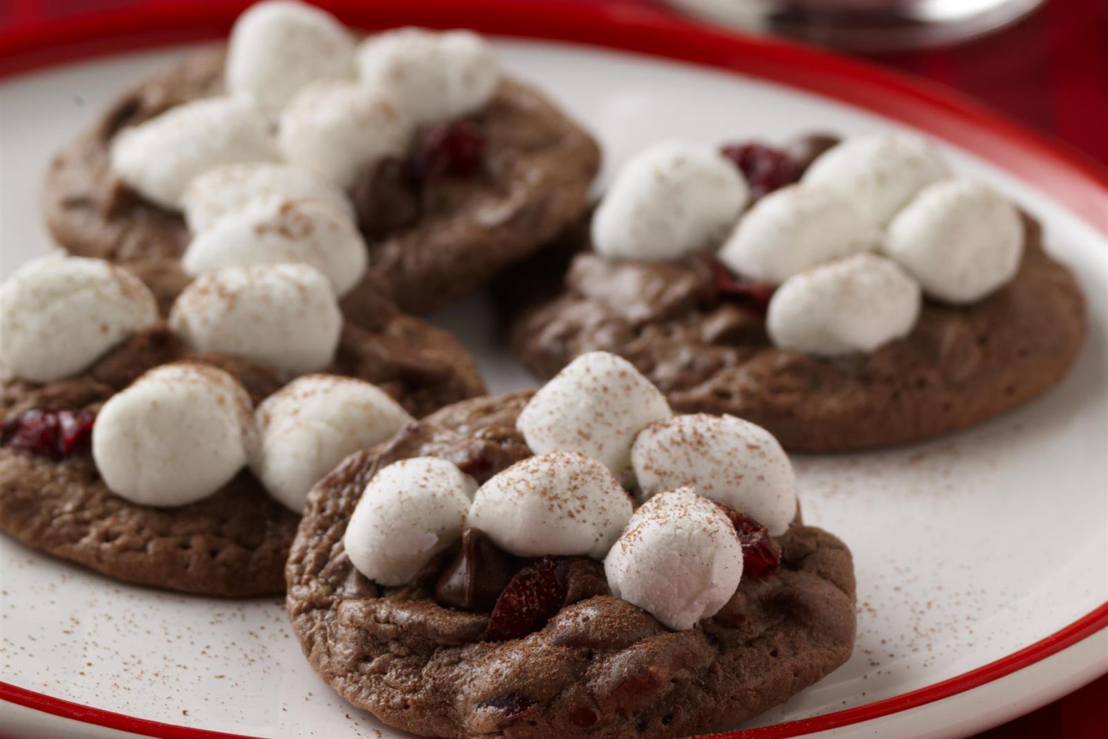 Santa's Hot Cocoa Cookies