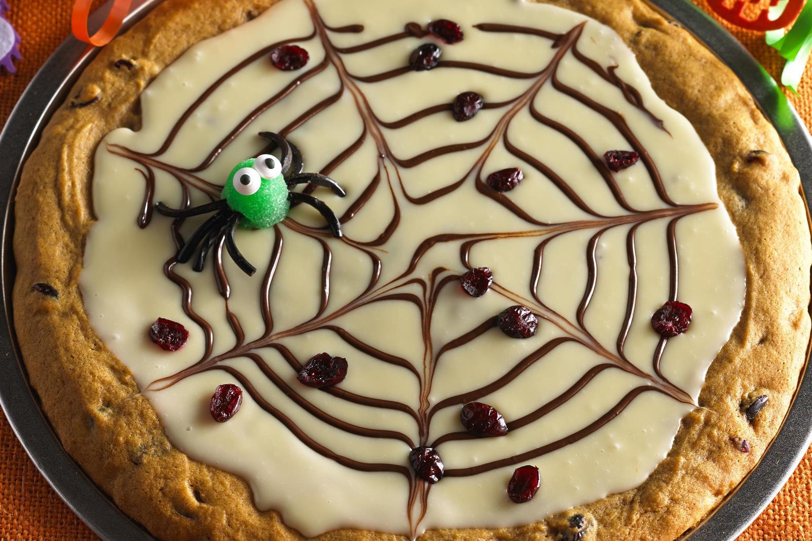 Spider Web Dessert Pizza