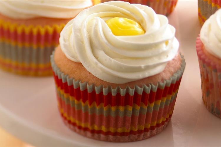 Stuffed Cran-Lemonade™ Cupcakes