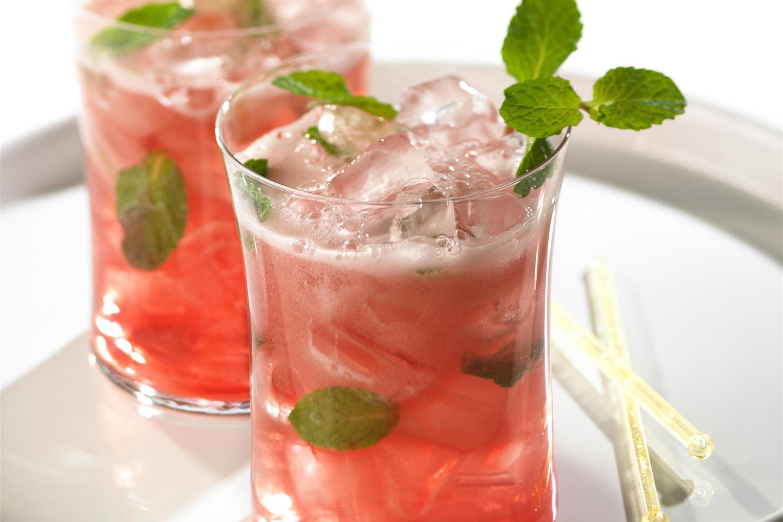 Cranberry Lime Spritzer