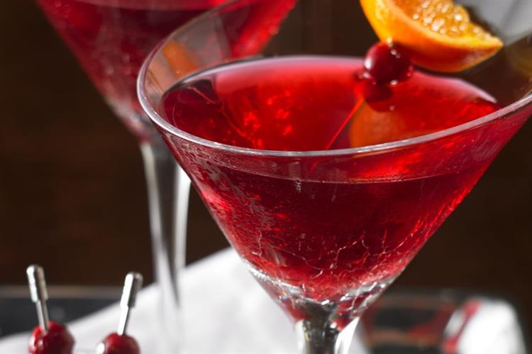 Cranberry Puebla Cocktail