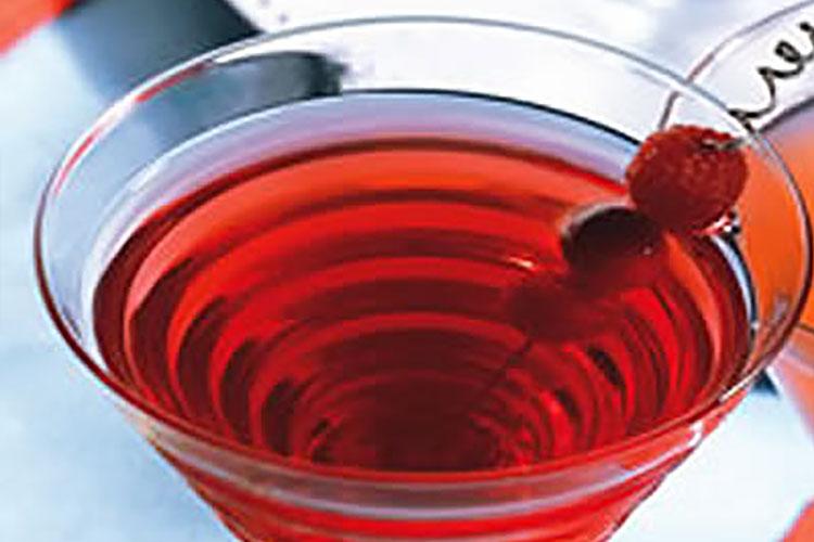 Cranberry Raspberry Flirtini
