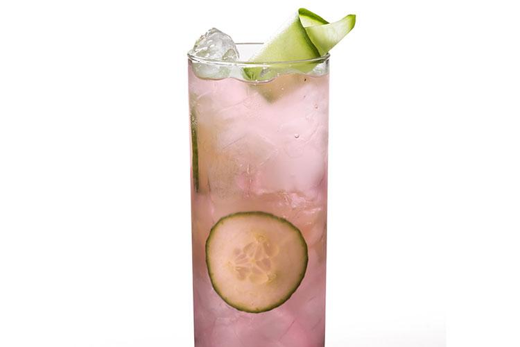 Cucumber Pink Cranberry Collins