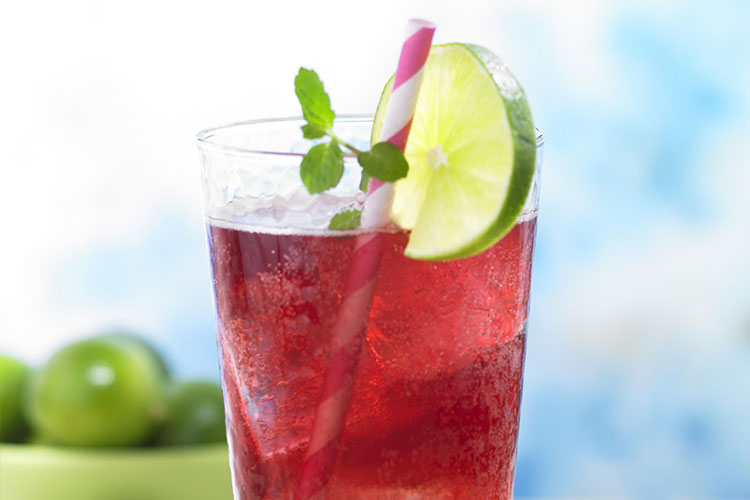 Diet Grape Lime Rickey