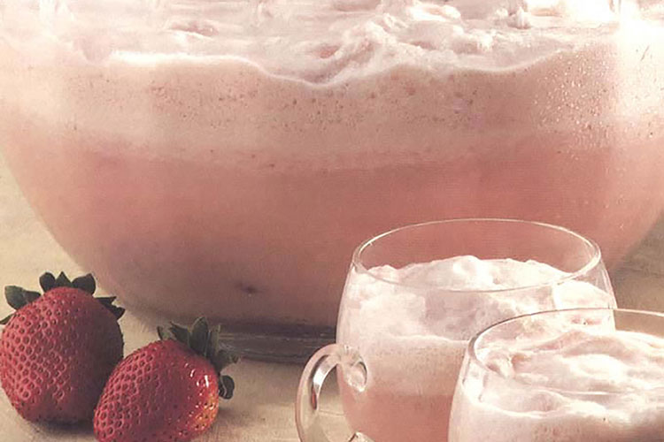 Luscious Strawberry Party Punch