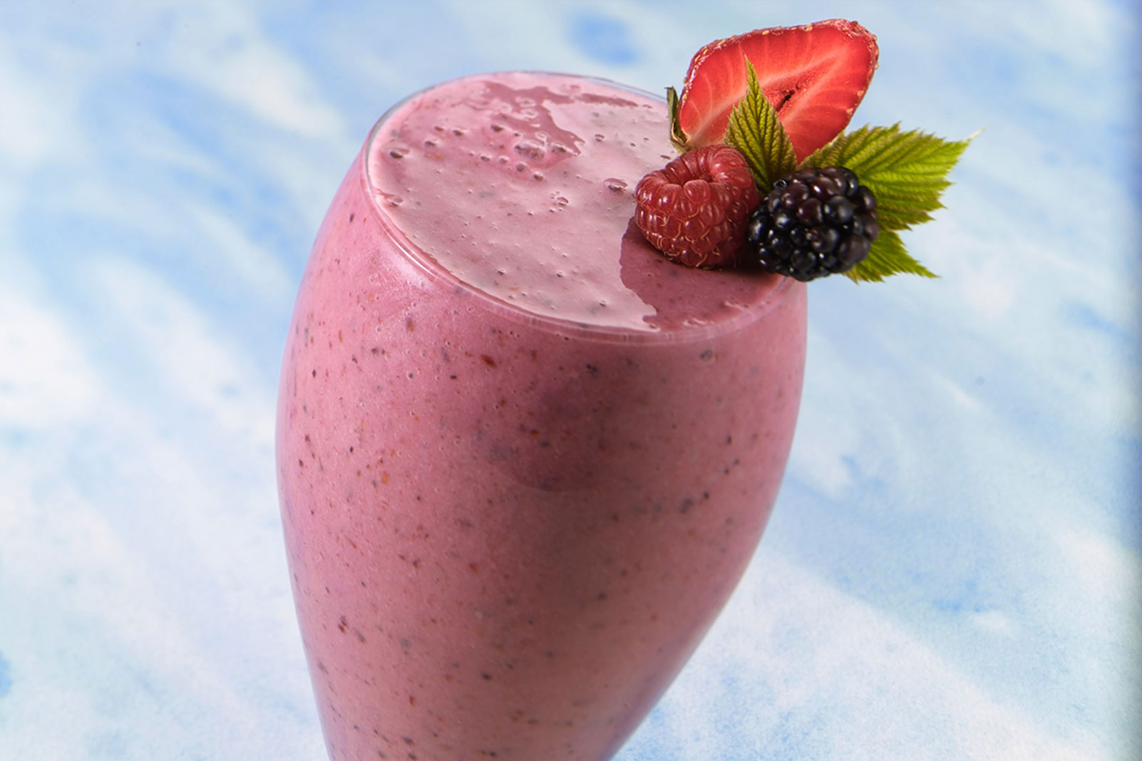 Organic Mixed Berry Smoothie