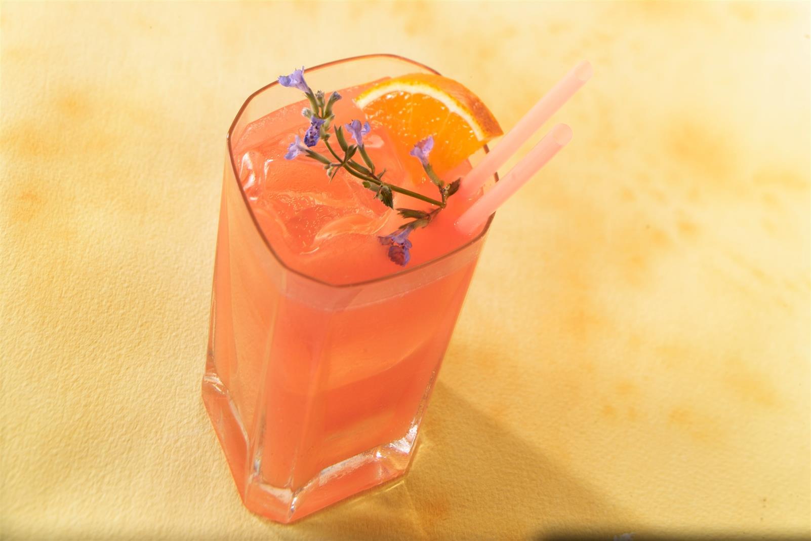 Ruby Citrus Sparkler