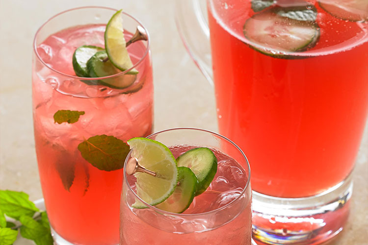 Ruby Cranberry Cucumber Refresher