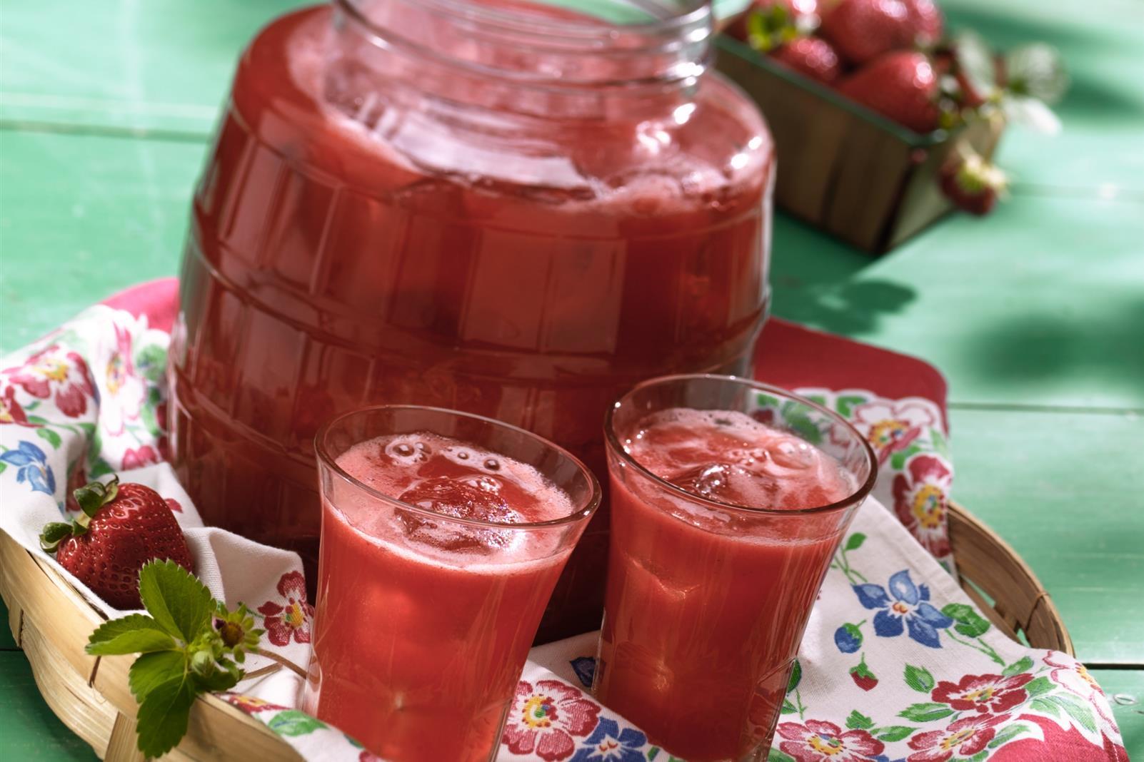 Ruby Strawberry Punch