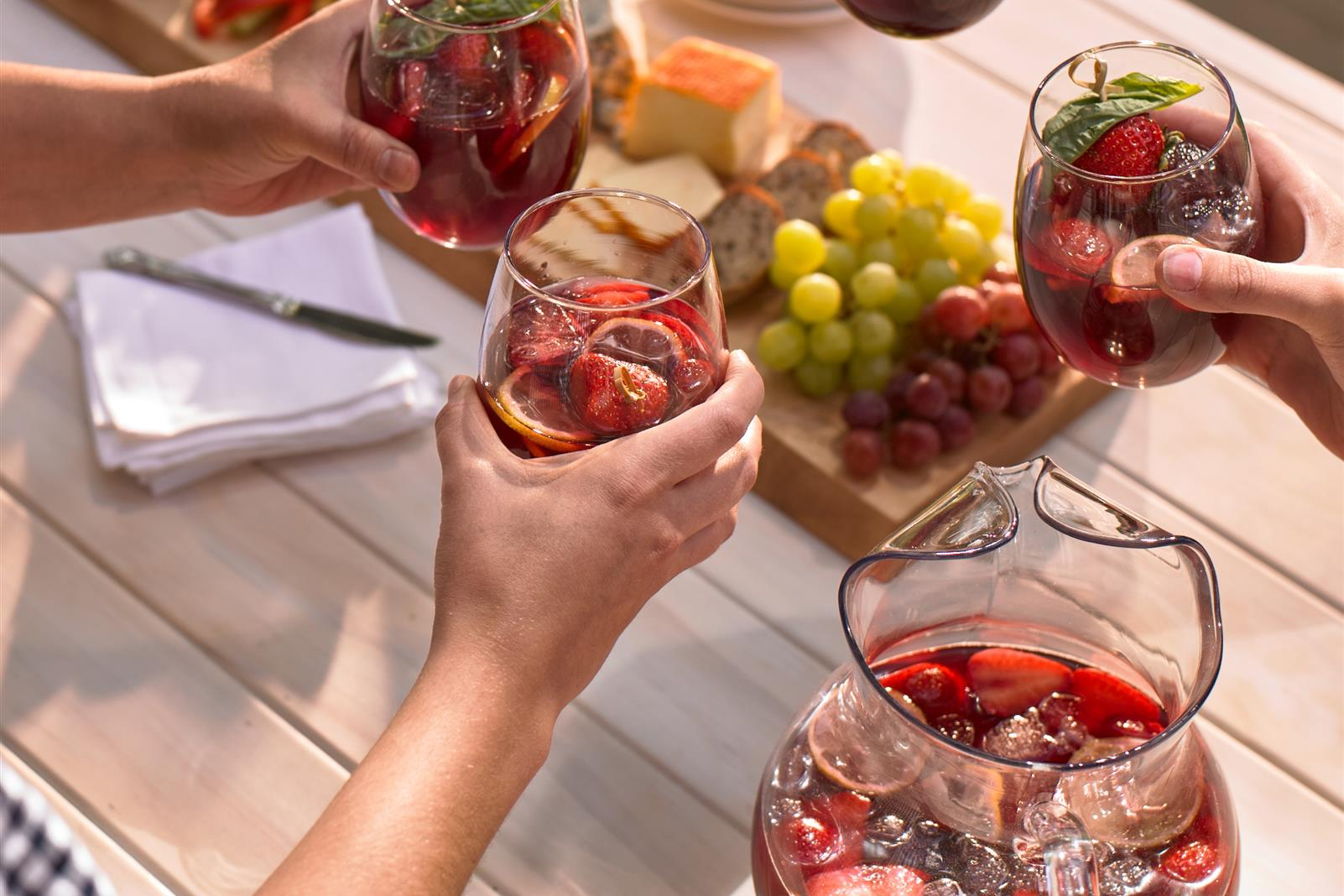 Sultry Sunset Sangria