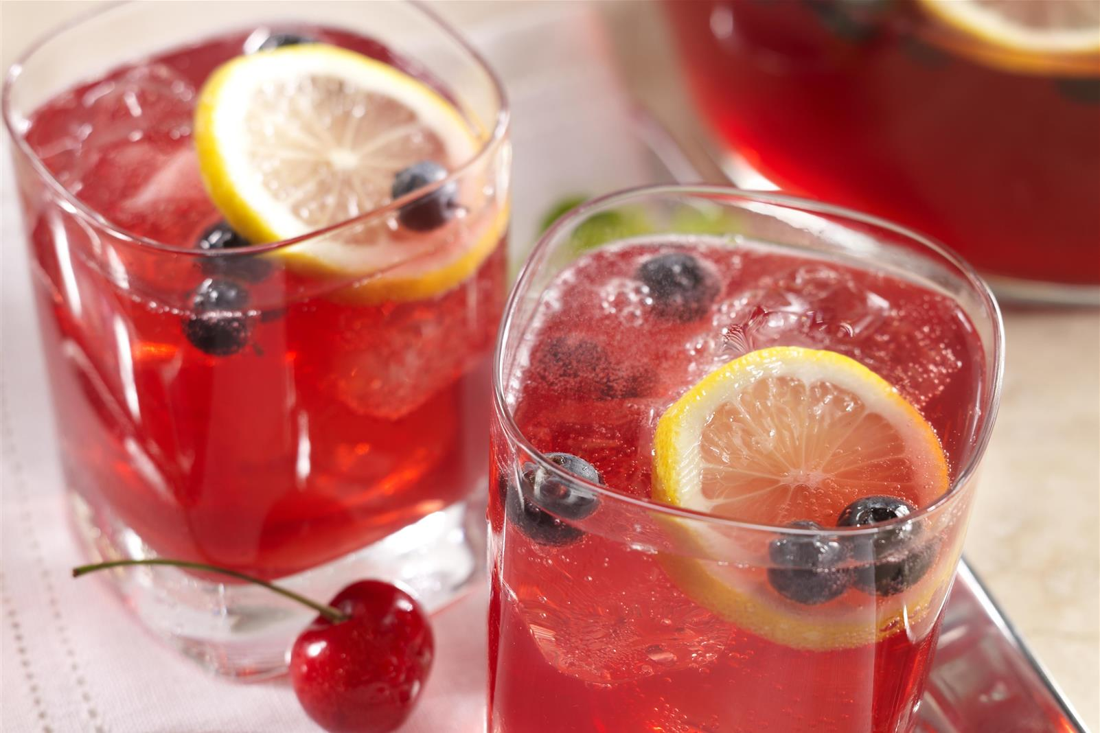 Very Cherry Citrus Lemon Punch
