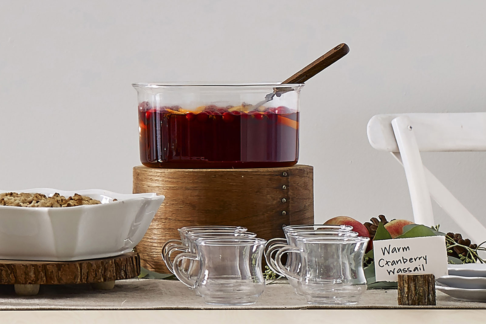 Warm Cranberry Wassail