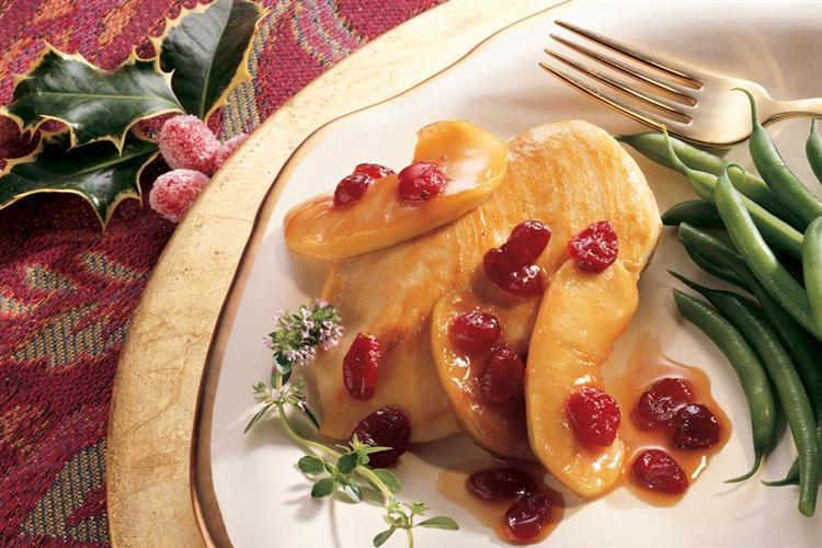 Apple Cranberry Marsala