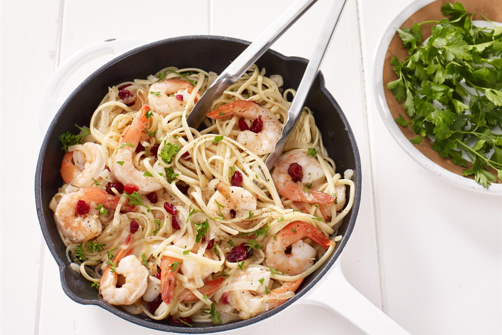 Citrus Shrimp Scampi