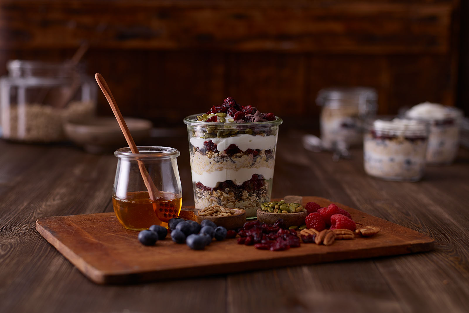 Overnight Oats with Craisins® Dried Cranberries