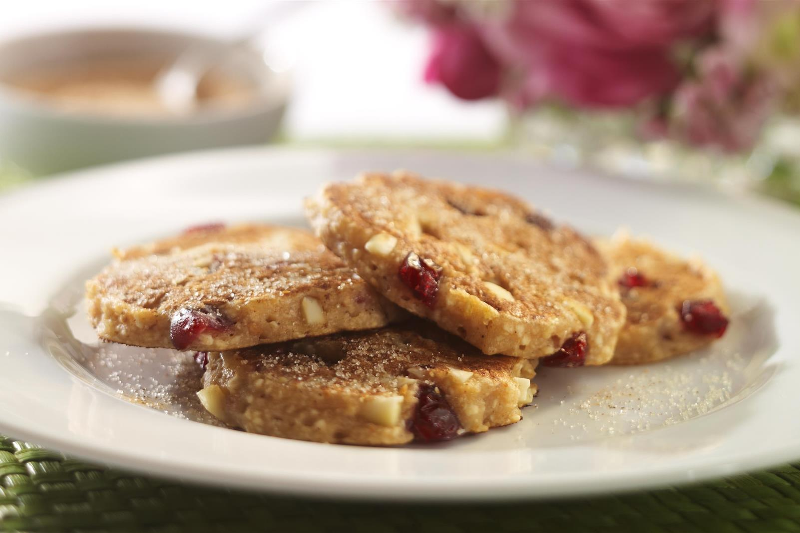 Passover Pancakes with Craisins® Dried Cranberries