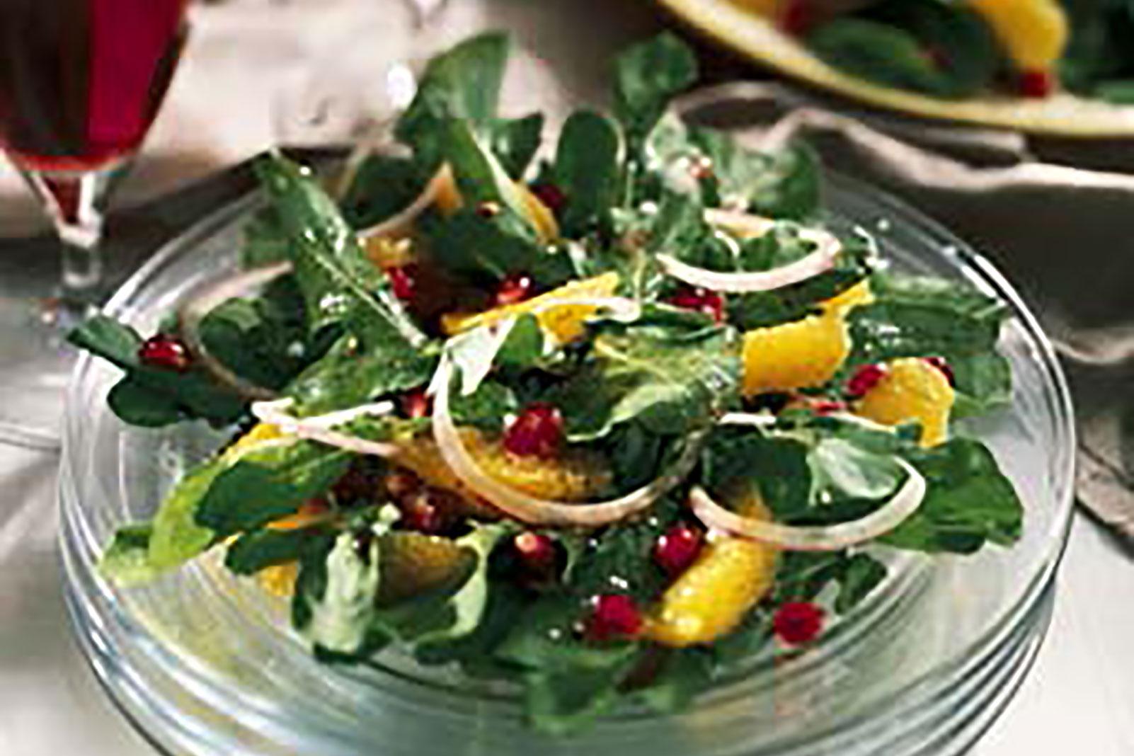 Pomegranate Arugula Salad