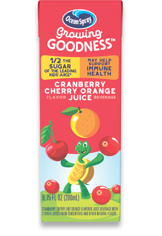Cranberry Cherry Orange Flavored Juice Beverage