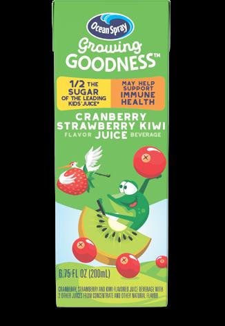 Cranberry Strawberry Kiwi Flavored Juice Beverage