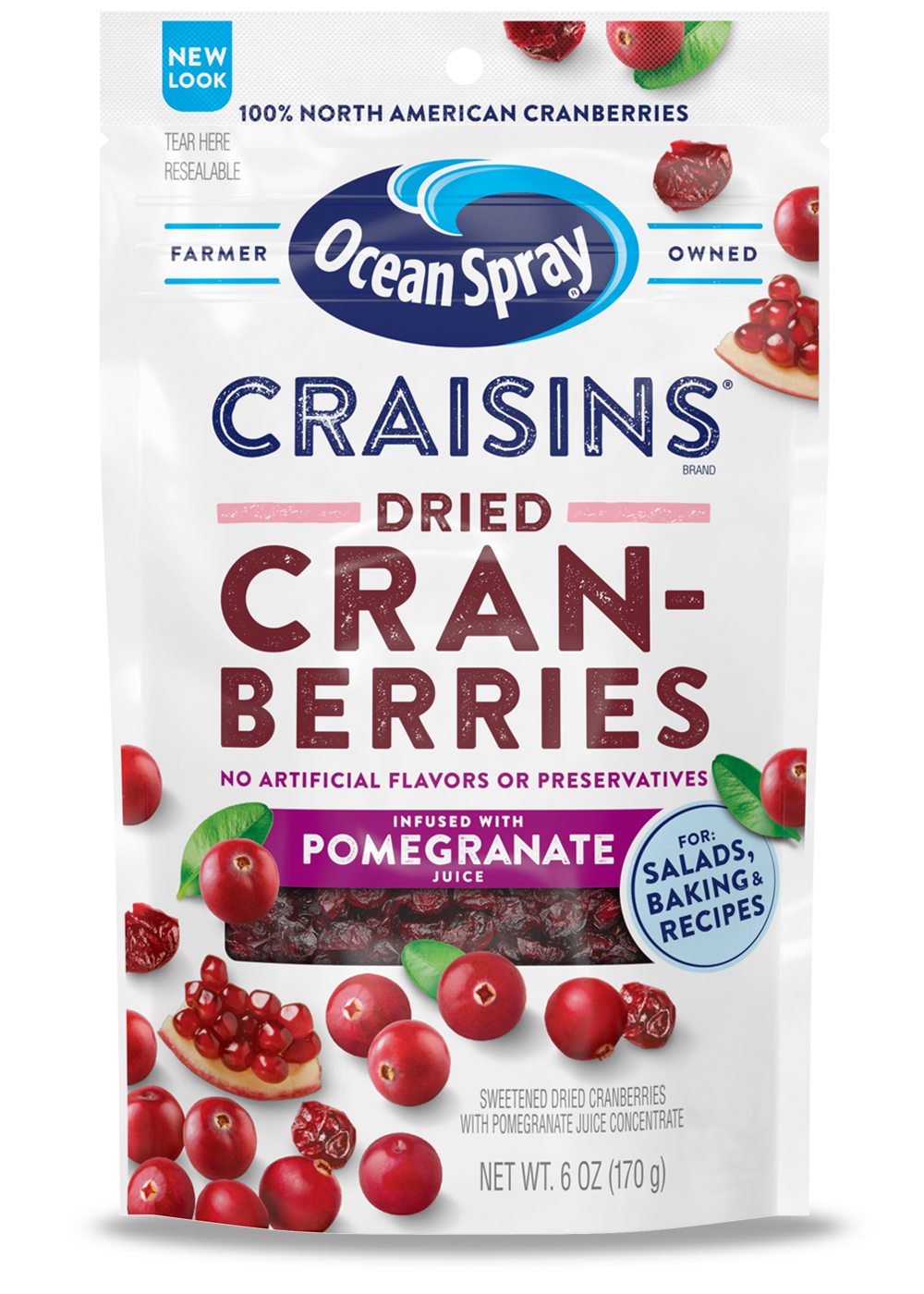 Craisins® Dried Cranberries Pomegranate Juice Infused