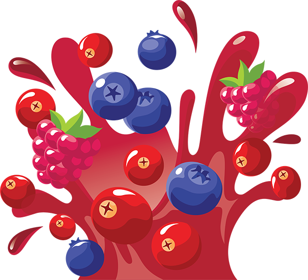 Cranberry Blueberry Raspberry